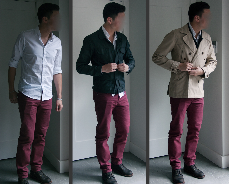 White Cloth Brown Edge With Blazer Men Plaid Blue
