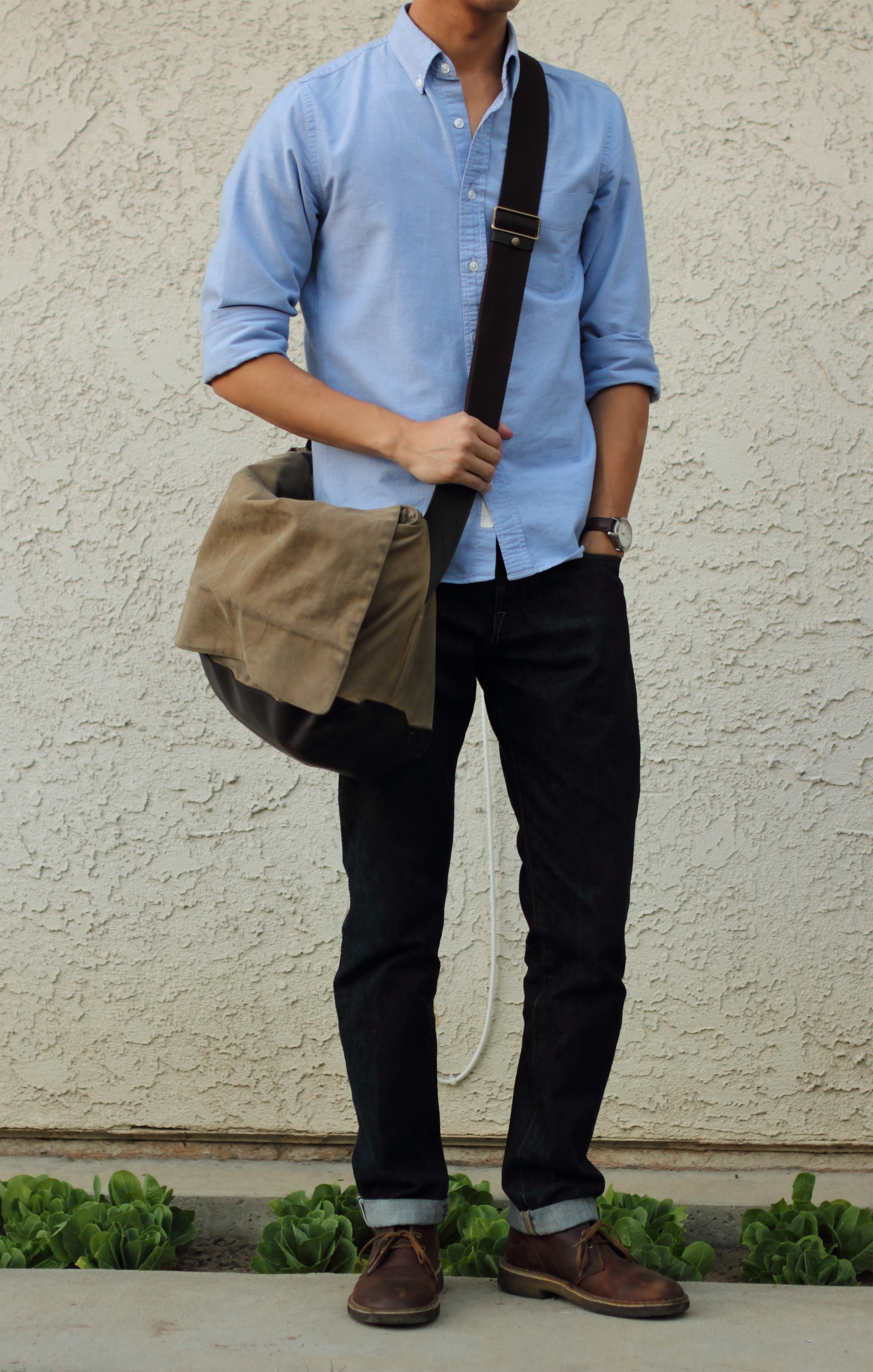 Light Brown Shoes Outfit