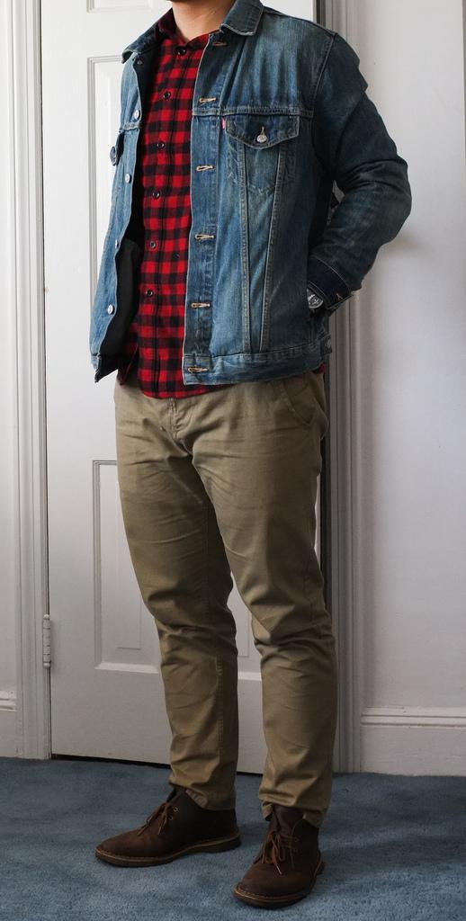 5df66679047e wondertwins is wearing  Levi s Trucker Jacket
