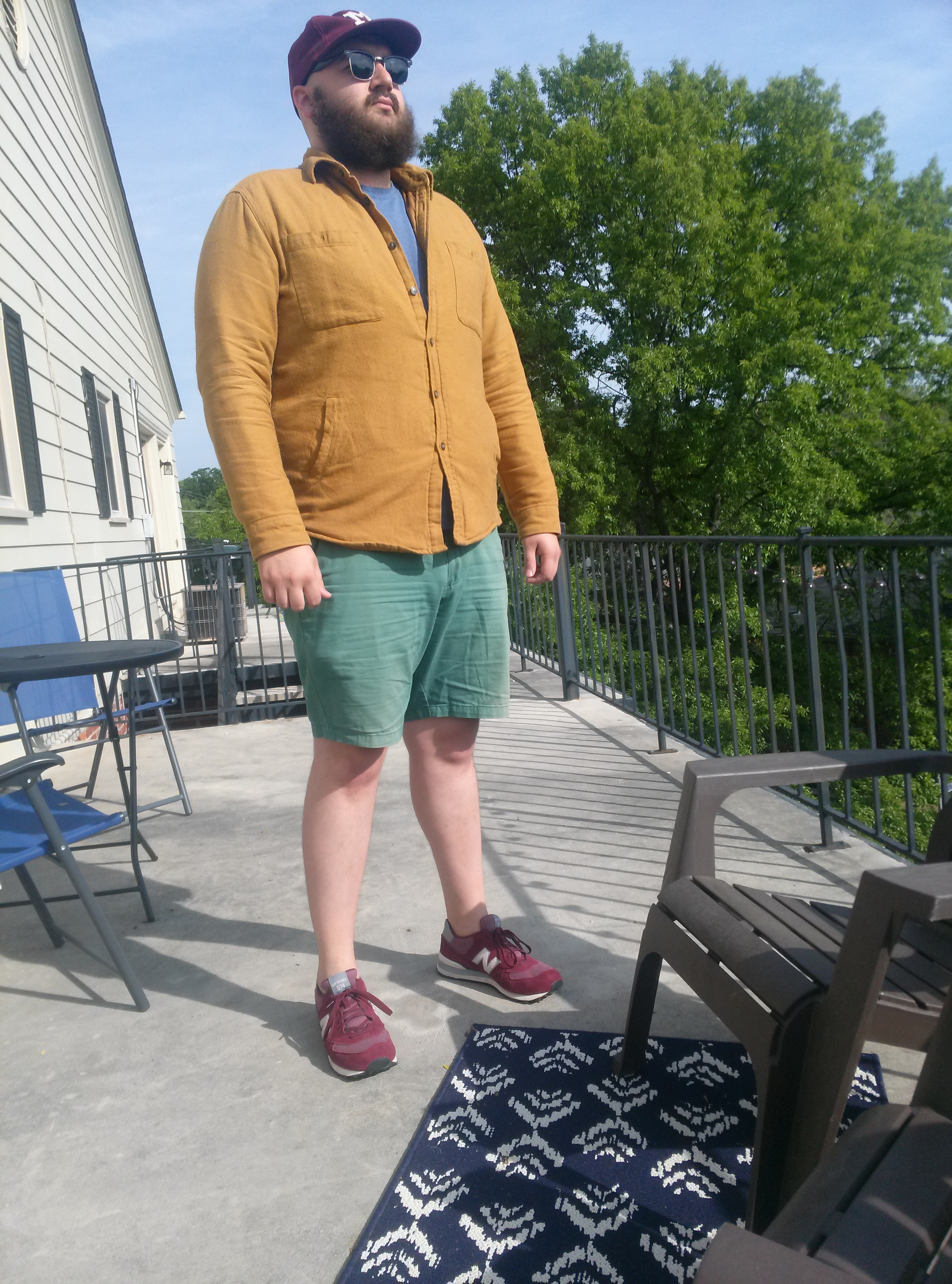 what are your guys' opinions on fat guys wearing shorts